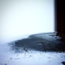 Être gelé comme une balle.